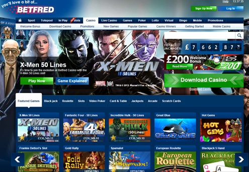 Betfred Playtech Casino - 37561