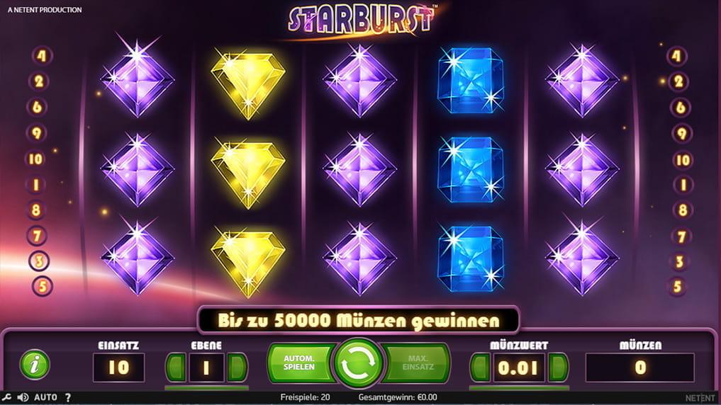 Starburst Freispiele - 403606