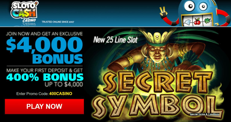 Secret Casino Bonus - 640524
