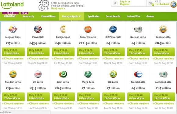 Welche Lotterie - 560080