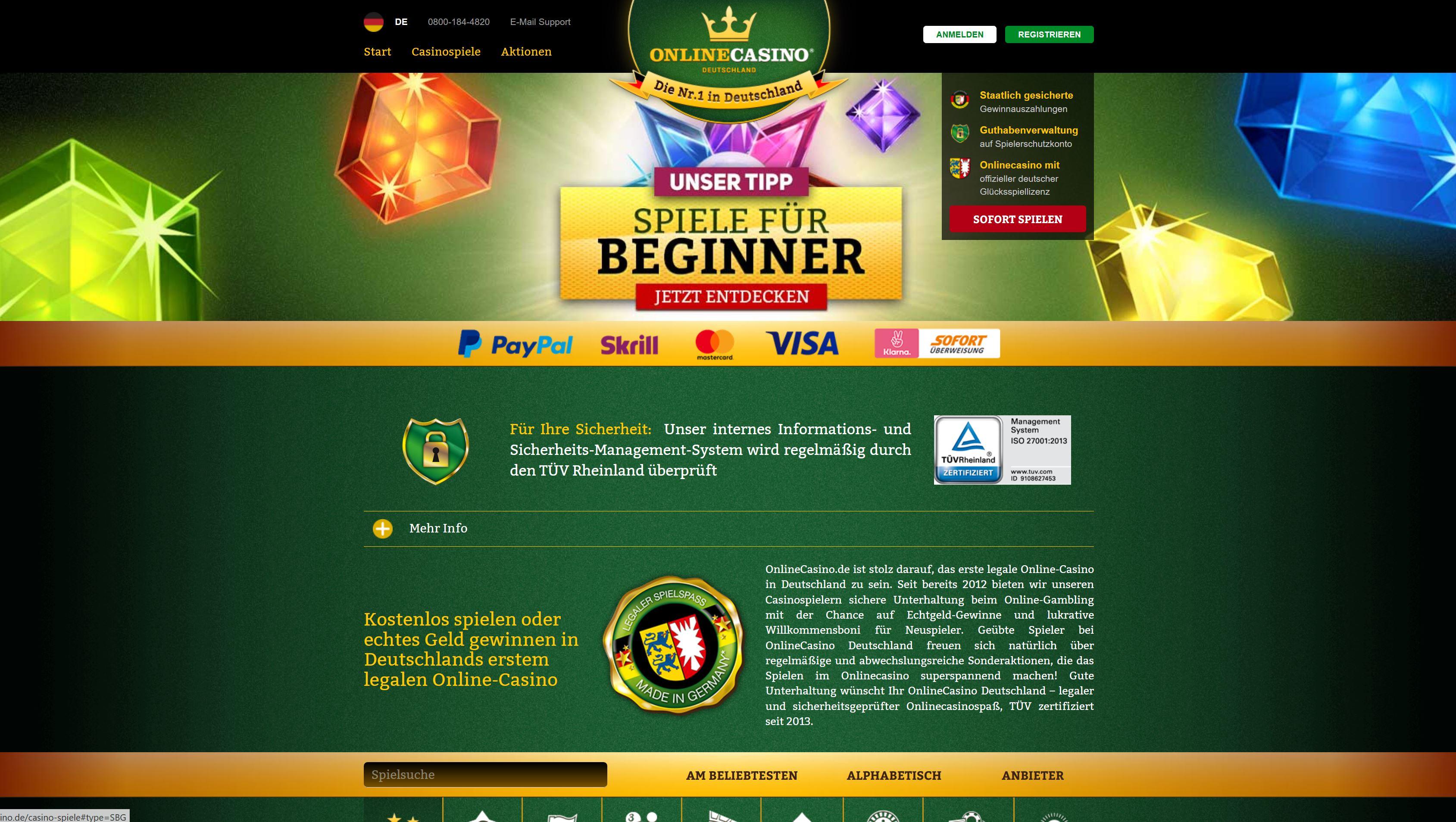 Casino Spiele online - 30849