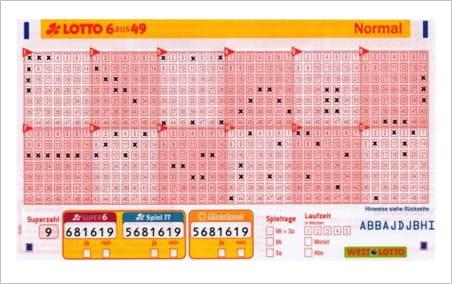 Im Lotto - 859285