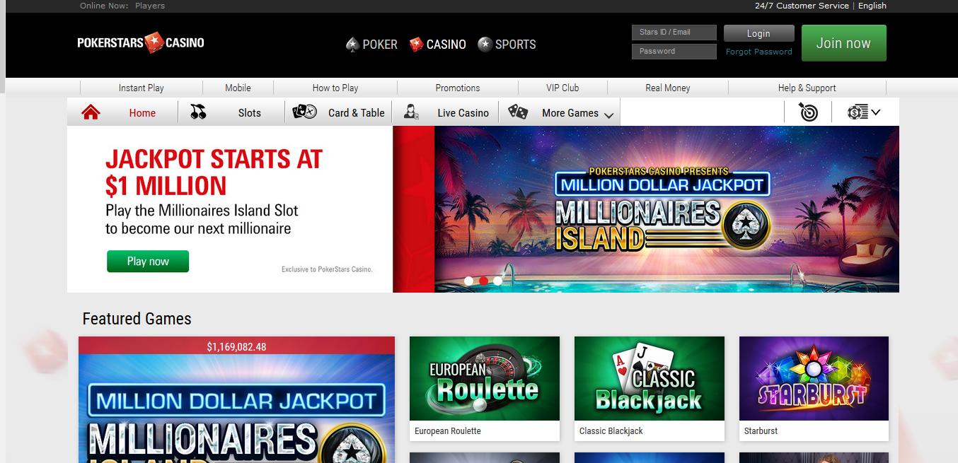 Pokerstars Casino download - 507823