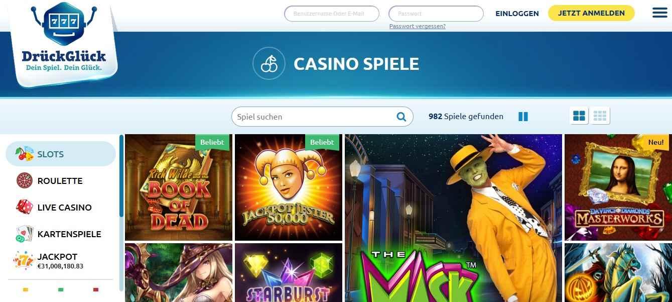 Automaten Spiele DrückGlück - 741369