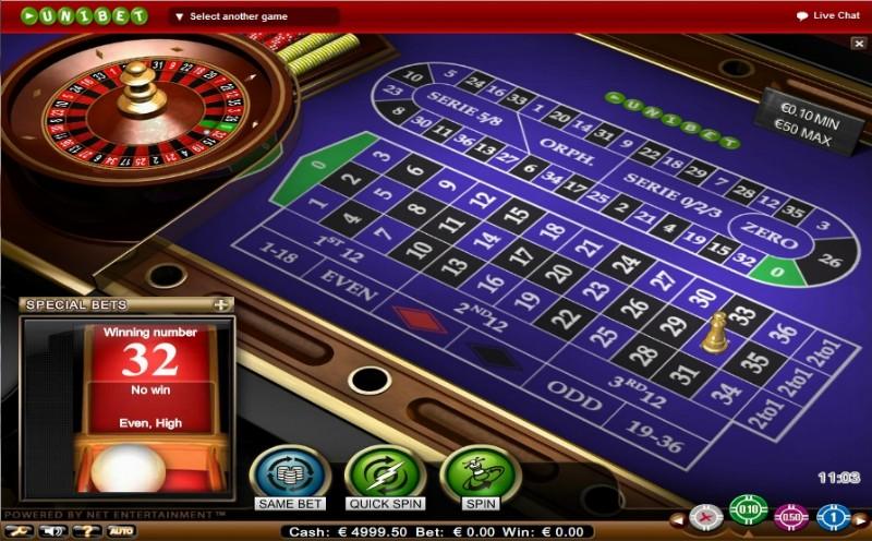 Roulette online Uniques - 668541
