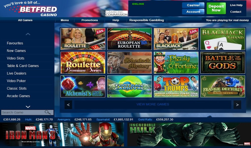 Betfred Playtech Casino - 249945