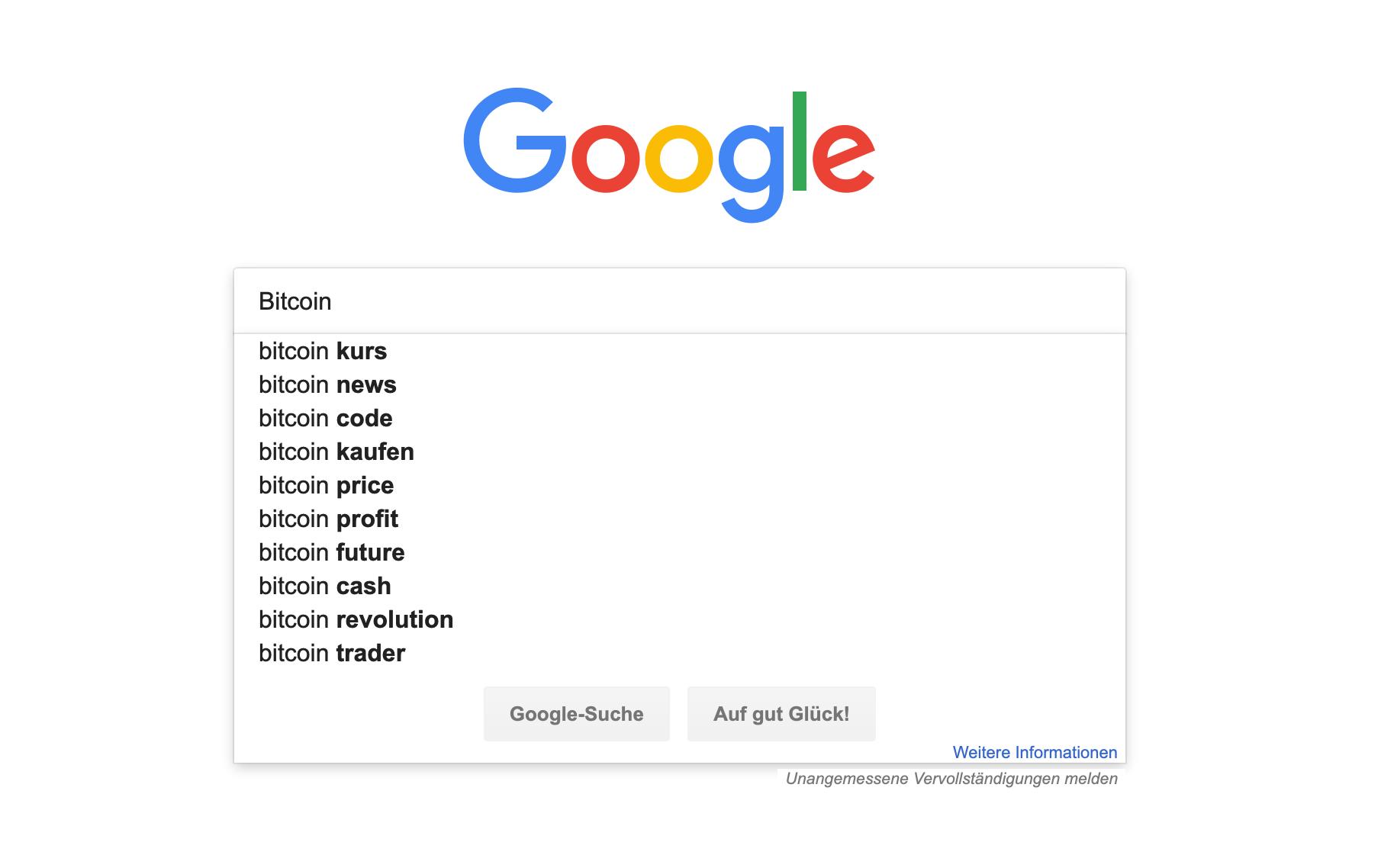 Bitcoin Market - 218601