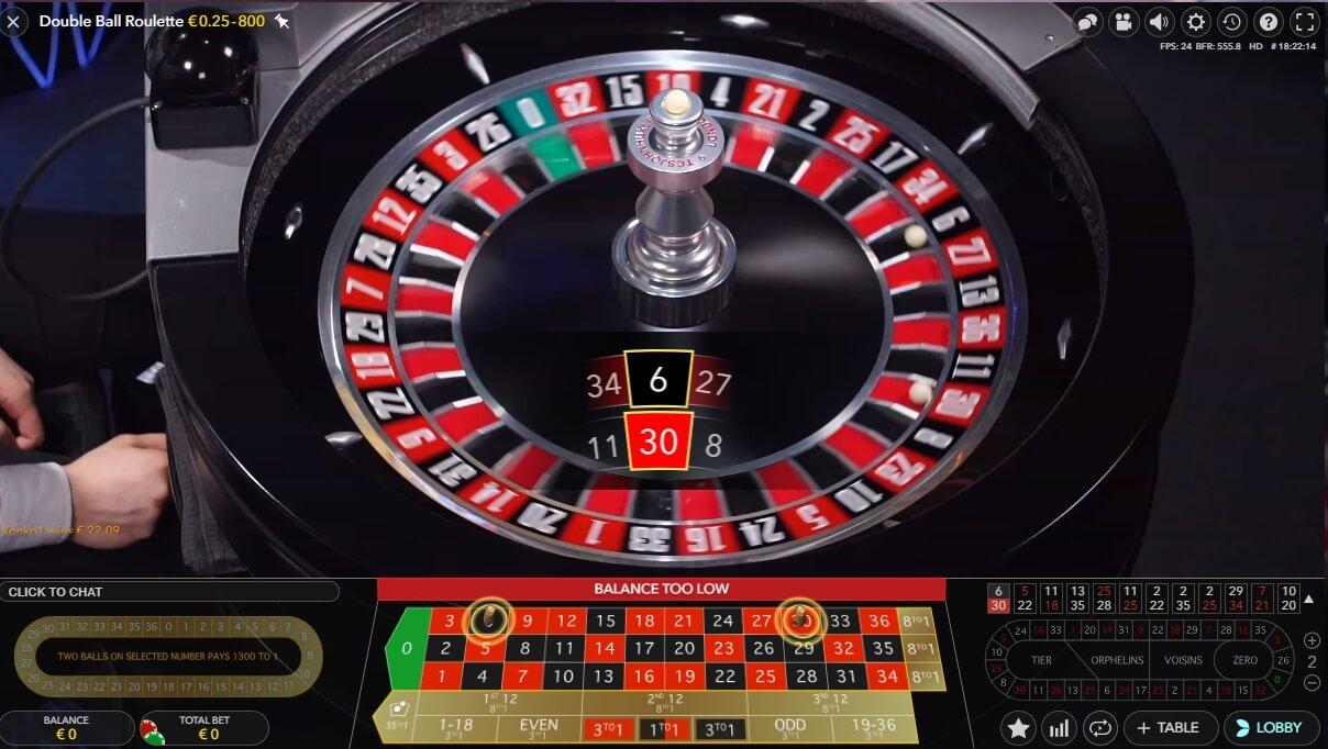 Double Ball Roulett - 251254