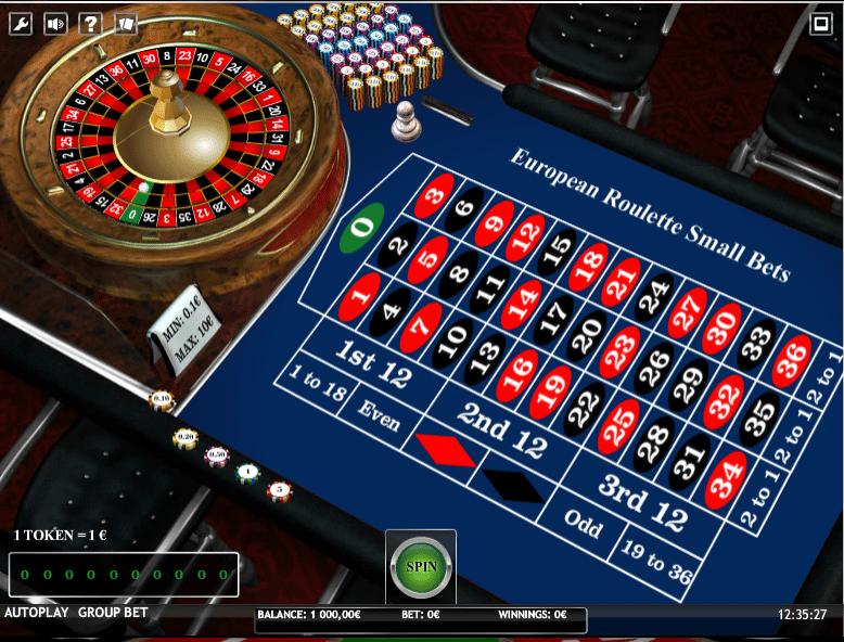 Europäisches Roulette Play - 702357