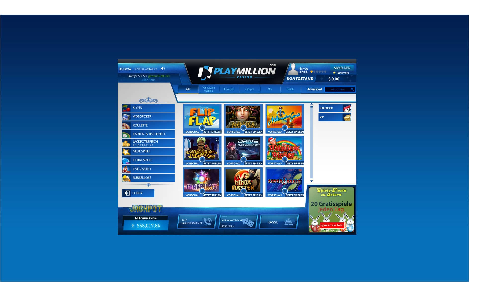 Rauchverbot in Casino - 412118